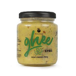 Manteiga Ghee sabor Ervas