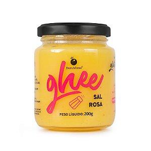 Manteiga Ghee sabor Sal Rosa