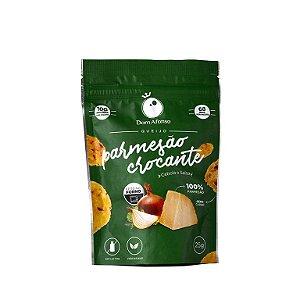 Snack de Queijo Parmesão Desidratado sabor Cebola & Salsa