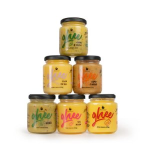 Kit 6 Manteigas Ghee Pequenas