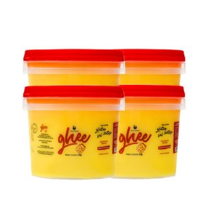 Kit 4 Manteigas Ghee Food Service (Balde 2kg)