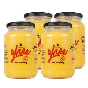 Kit 4 Manteigas Ghee Grande