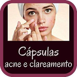 Redução da Acne e Clareamento da Pele (30 cápsulas)