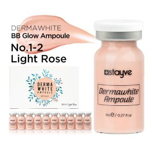 KIT BB Glow Cor 1-2 Light Rose