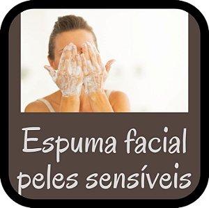 Espuma Facial Dessensibilizante para Peles Sensíveis (100 ml)