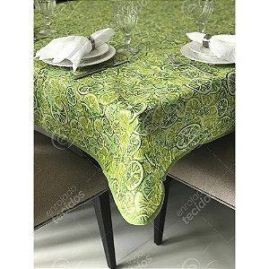 Toalha de Mesa em Gorgurinho Limão