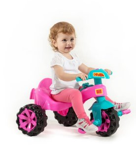 TRICICLO TOY KIDS ROSA