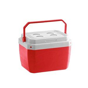 Caixa Térmica 17 Litros Vermelha