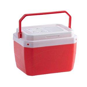 Caixa Térmica 40 Litros Vermelha