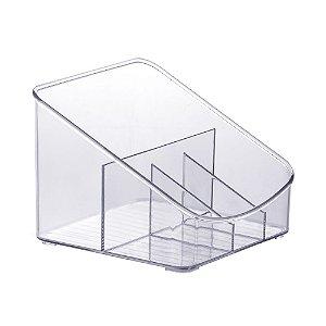 Organizador Diamond Com Divisórias Cristal - M5