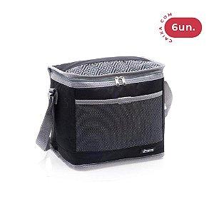 Bolsa Térmica Pratic Cooler Térmico 10 Litros - 06 Unidades