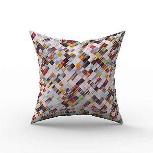 Capa de Almofada em Tecido Impermeável Acqua Linea Mixta Pixel