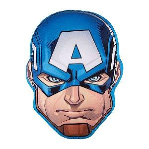 Almofada Infantil Avengers Capitão América – 30cm x 40cm