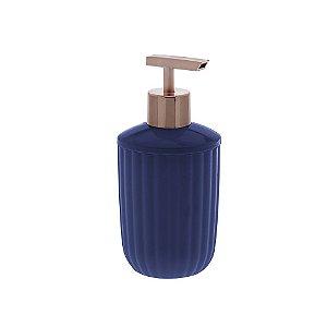Porta Sabonete Líquido Bagno Canelatta Azul