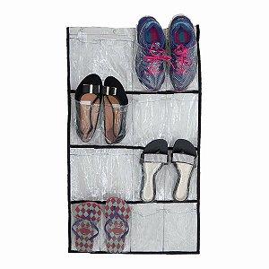 Sapateira Para 08 Pares De Sapatos Transparente