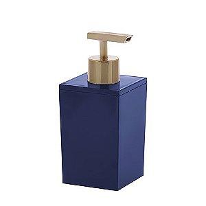 Porta Sabonete Líquido Bagno Quadratta Azul