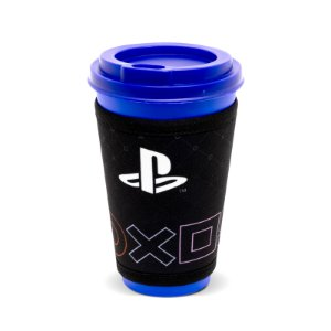 Copo Fun 550Ml Com Cinta Simbolos Playstation