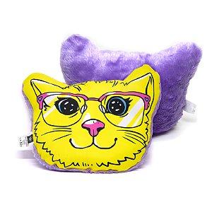 Almofada Formato Gato - Miga Sua Loca