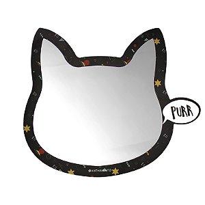 Espelho De Parede Purr Gato