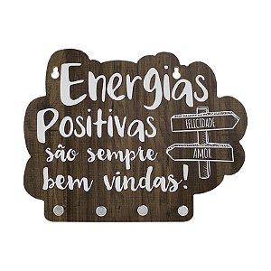 Porta Chave Energias Positivas