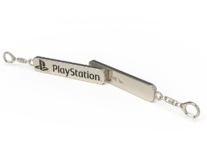 Chaveiro De Metal Playstation - Mod. 1