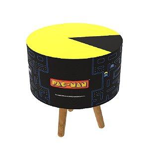 Pufe Formato Pac-Man Com Pés