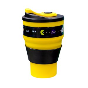 Copo Retrátil 400Ml Pac-Man