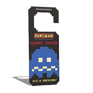 Aviso De Porta Pac-Man