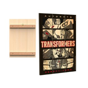 Placa Decorativa  Transformers - Quadrinhos