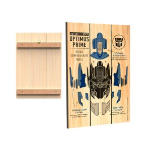 Placa Decorativa  Transformers - Mod.05 - Optimus Prime