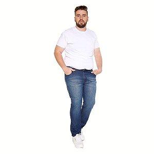 Calça Masculina Jeans Plus Curve Size Azul Ref: 10805