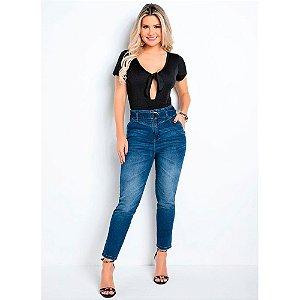 Calça Feminina Mom Jeans Sawary Ref: 273797