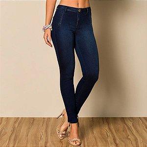 Calça Feminina Jeans Skinny Bolso tipo Faca Ref: 9073