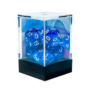 Central Dados para RPG -  Mármore Azul