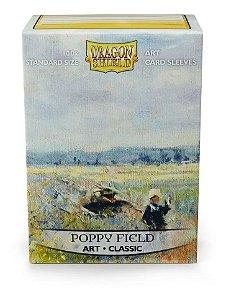 Dragon Shield Estampado Poppy Field