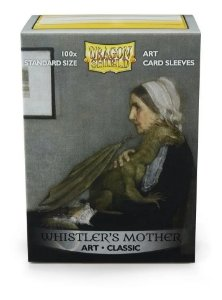 Dragon Shield Estampado Whistler´s Mother Art Sleeves 100