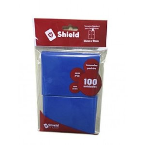 Central Shield Matte Azul
