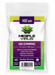 Sleeve Usa Chimera Meeple Virus
