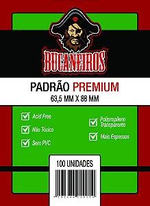 Sleeves Padrão Premium Bucaneiros