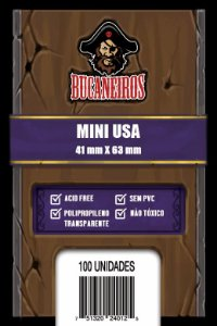 Sleeves Mini Usa Bucaneiros