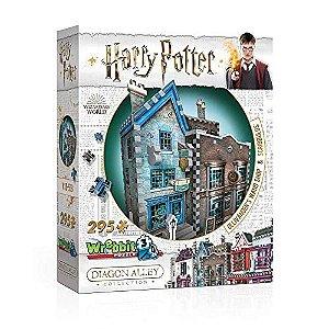Harry Potter: Loja De Varinhas Olivaras E Instrumentos De Escrita Scribbulus Quebra Cabeça 3D