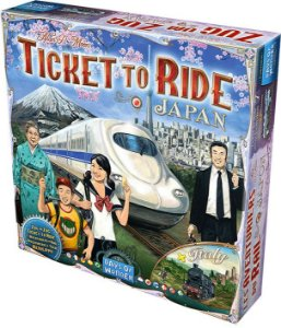Ticket to Ride Japão e Itália