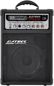 Caixa Multiuso Amplificada Bluetooth USB/Sd/Fm 50 Watts Dmu 8.50 - Datrel