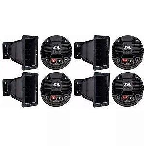 4 Driver Qvs 244ti 160watts + Guia De Onda P/ Line Array