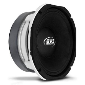 Alto falante 8 pol. 400W 8MGS400 Carcaça Branca 4 Ohms - Qvs Áudio
