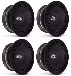 4 Mid Bass Qvs 8 250rms Medio Grave | 8mgs250 P/ Line Array 4 Ohms