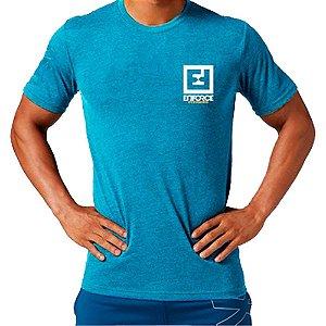 Camiseta de Treino/Academia/Crossfit/Funcional Azul Claro Tam P - Enforce Fitness