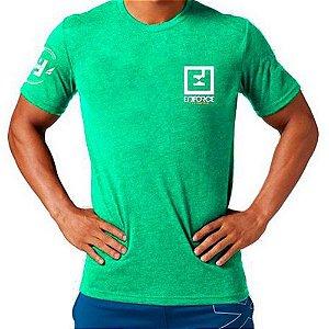 Camiseta Exercícios para Treino/Academia/Crossfit/Funcional Verde Claro Tam G - Enforce Fitness