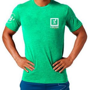 Camiseta Exercícios para Treino/Academia/Crossfit/Funcional Verde Claro Tam M - Enforce Fitness