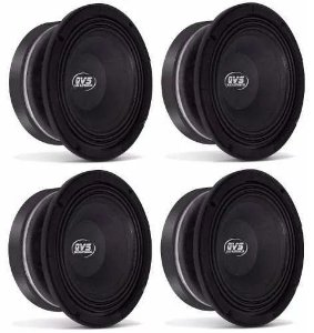 4x Alto falante 6 pol. 250W 6MGS250 16 Ohms - Qvs Áudio